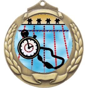 Swimming Medal M862-K165 - Trophy Land