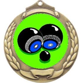 Lawn Bowls Medal M862-K30 - Trophy Land