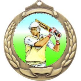 Cricket Medal M862-K48 - Trophy Land