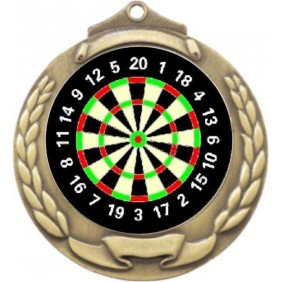 Darts Medal M862-K66 - Trophy Land