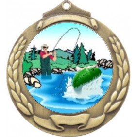 Fishing Medal M862-K76 - Trophy Land
