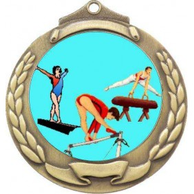 Gymnastics Medal M862-K92 - Trophy Land
