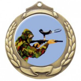Paintball Medal M862-PAIN01 - Trophy Land
