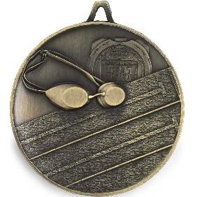 Swimming Medal M9302 - Trophy Land