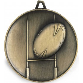 Rugby Medal M9313 - Trophy Land