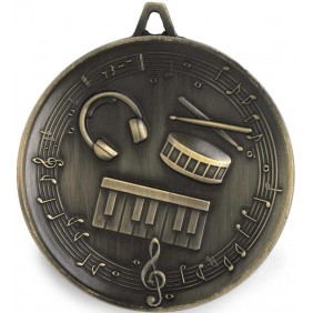 Drama Music Medal M9321 - Trophy Land