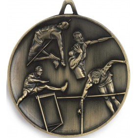 Athletics Medal M9358 - Trophy Land
