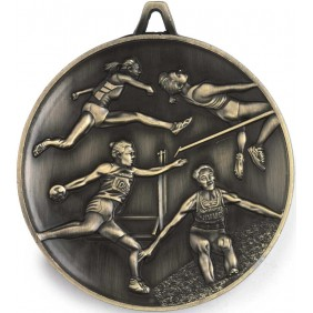 Athletics Medal M9359 - Trophy Land