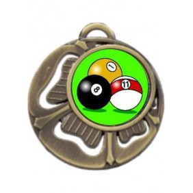 Snooker Medal MD464-K129 - Trophy Land