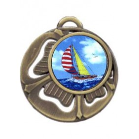 Sailing Medal MD464-K147 - Trophy Land