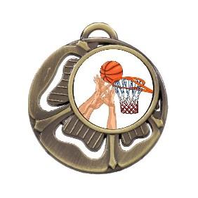 Basketball Medal MD464-K27 - Trophy Land