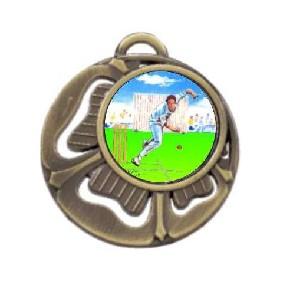 Cricket Medal MD464-K49 - Trophy Land