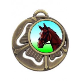 Horse Medal MD464-K98 - Trophy Land