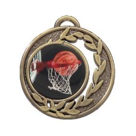 Basketball Medal MD465-C601 - Trophy Land