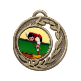Snooker Medal MD465-K130 - Trophy Land