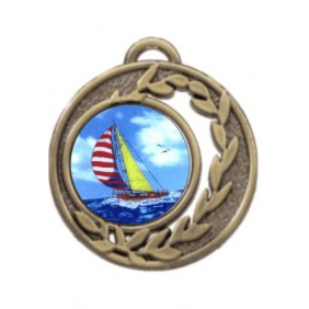 Sailing Medal MD465-K147 - Trophy Land