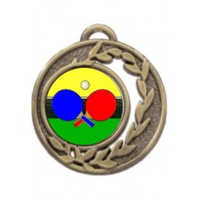 Ping Pong Medal MD465-K169 - Trophy Land