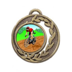 Cycling Medal MD465-K55 - Trophy Land