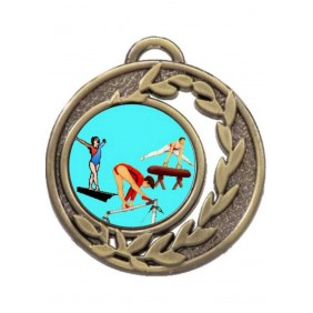 Gymnastics Medal MD465-K92 - Trophy Land