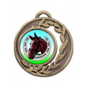 Horse Medal MD465-K99 - Trophy Land