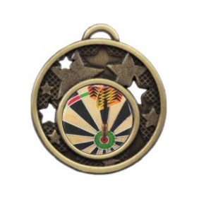 Darts Medal MD466-C381 - Trophy Land
