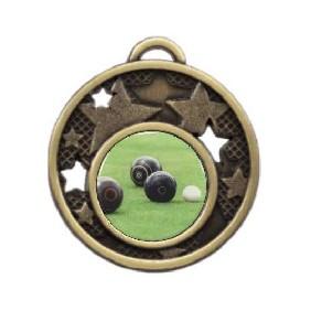 Lawn Bowls Medal MD466-C831 - Trophy Land