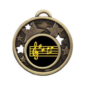 Drama Music Medal MD466-K120 - Trophy Land