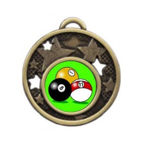 Snooker Medal MD466-K129 - Trophy Land