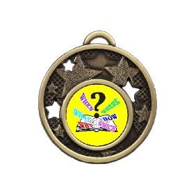 Trivia Medal MD466-K132 - Trophy Land