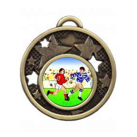 Rugby Medal MD466-K136 - Trophy Land