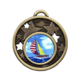 Sailing Medal MD466-K147 - Trophy Land