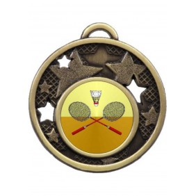 Badminton Medal MD466-K23 - Trophy Land