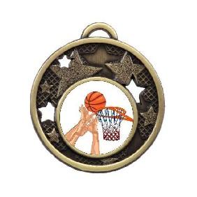 Basketball Medal MD466-K27 - Trophy Land