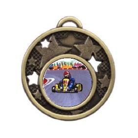Motorsports Medal MD466-K37 - Trophy Land
