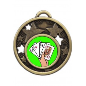 Cards Medal MD466-K42 - Trophy Land