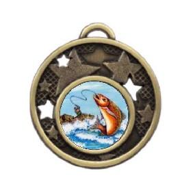 Fishing Medal MD466-K77 - Trophy Land
