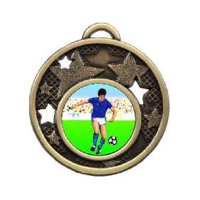 Football Medal MD466-K83 - Trophy Land