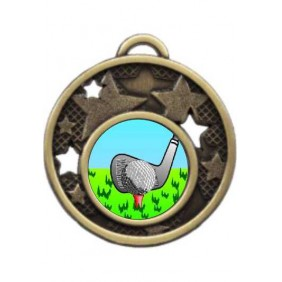 Golf Medal MD466-K88 - Trophy Land