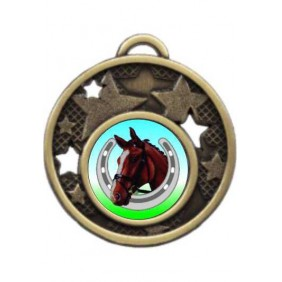 Horse Medal MD466-K99 - Trophy Land