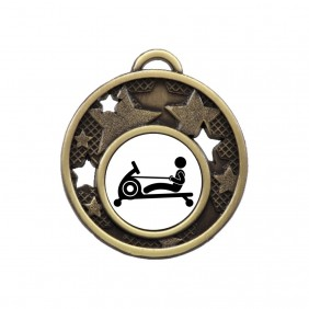 Exercise Medal MD466-TLRowM - Trophy Land