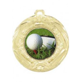 Golf Medal MD70-C171 - Trophy Land