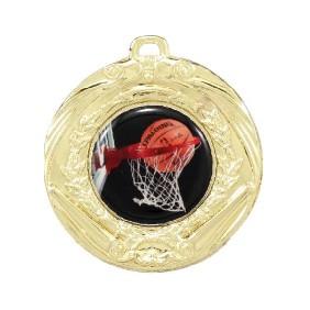 Basketball Medal MD70-C601 - Trophy Land