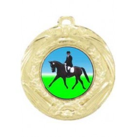 Horse Medal MD70-K100 - Trophy Land