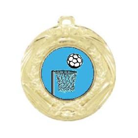 Netball Medal MD70-K121 - Trophy Land