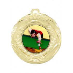 Snooker Medal MD70-K130 - Trophy Land