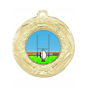 Rugby Medal MD70-K137 - Trophy Land