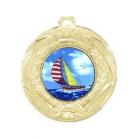 Sailing Medal MD70-K147 - Trophy Land