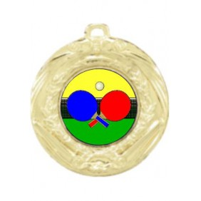 Ping Pong Medal MD70-K169 - Trophy Land