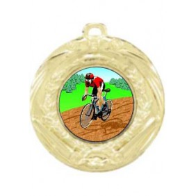 Cycling Medal MD70-K55 - Trophy Land