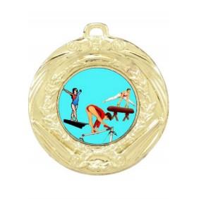 Gymnastics Medal MD70-K92 - Trophy Land